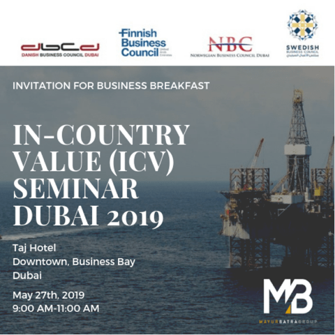 In Country Value Icv Seminar Danish Business Council